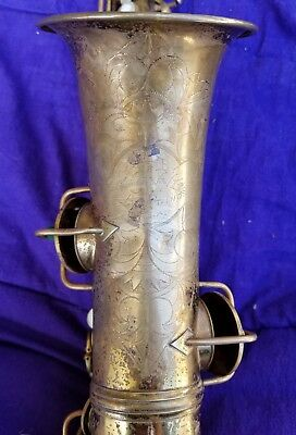 """CONN """"New Wonder I"""" Alto Sax / For Parts or Repair, missing neck"""
