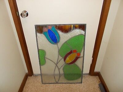 Stained Glass Leadlight Window  PICK UP ONLY.
