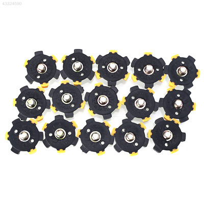 14Pcs Golf Shoe Spikes Sports Replacement Cleat Screw Fast Twist Foot For Joy