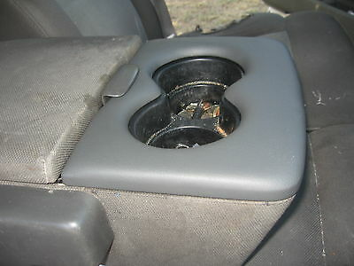ford f-150 center arm rest cup holder trim   2004-2010