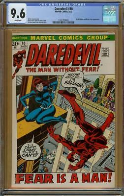 Daredevil #90 CGC 9.6 White Pages Black Widow