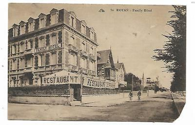 carte postale royan family hotel