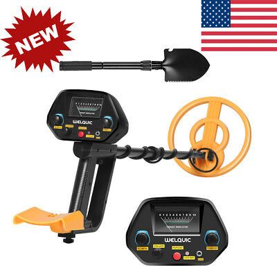 All Metal Detector Pinpointer VLF For Gold Coin Jewelry Prospecting 2 Modes New
