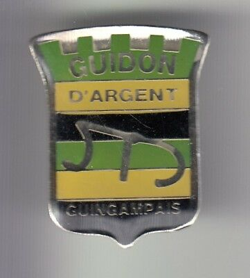Rare Pins Pin's .. Velo Cyclisme Cycling Club Team Guidon Argent Guingamp 22 ~Dz