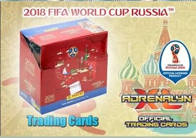 Panini Adrenalyn XL World Cup Russia 2018 1 x Display / 100 Booster WM Cards