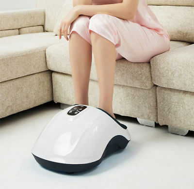New Shiatsu Foot Massager with Heat Therapy, Deep Kneading & Air Massage Massage