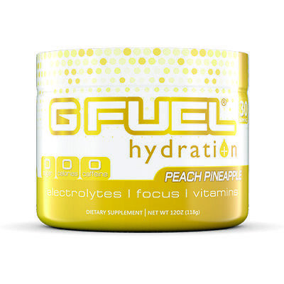 G Fuel Hydration Peach Pineapple 30 Servings