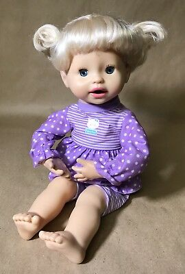 2010 FISHER PRICE Little Mommy My Very Real Baby Interactive Doll - Works!!