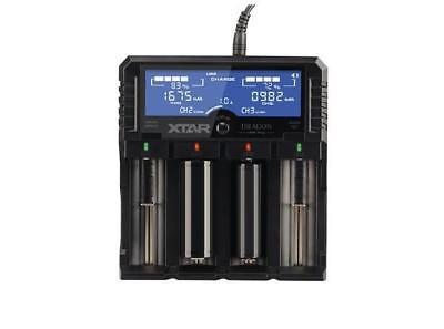 XTAR Dragon VP4 Plus Premium LCD Li-ion/Ni-MH Battery Charger