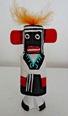 "Hopi Kachina ~ L. Pooley Signed ~ 3 "" Hand Carved Ogre Woman ~ Perfect Condition"