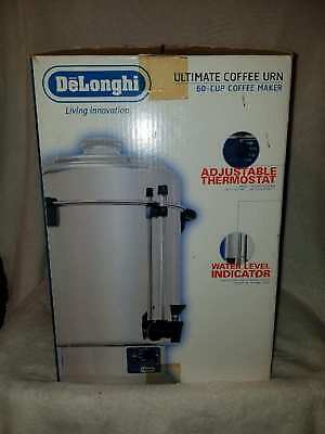 Delonghi DCU60T Ultimate Urn 20-60 Cup Coffee Maker Stainless Steel Commercial