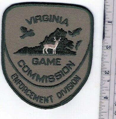Virginia Game Commission Enforcement Division