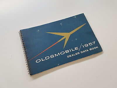 Original 1957 Oldsmobile Dealer Data Book / Holiday, Coupe, Options, Prices