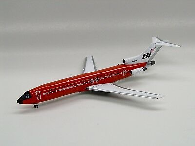"Boeing 727-200 Braniff ""jellybean Red"" (Jxl147) In 1/200 Scale"