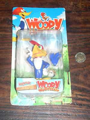 Vintage Very Rare Woody Woodpecker China Figure New Never Open