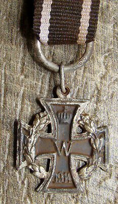 Imperial German Miniature Wwi Iron Cross 1914
