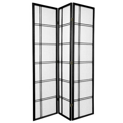 NEW 3 Panel Cross Room Divider Screen Home Storage and Living Room Dividers