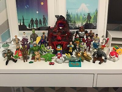 Job Lot 80's 90's Toys Chewbacca Thundercats Ghostbusters Turtles Transformers