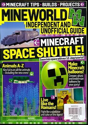 Mineworld Issue 34 (2018) Minecraft Tips Builds Projects