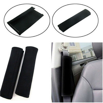 2pcs Car Safety Seat Belt Shoulder Pads Cover Cushion Harness Comfortable Pads