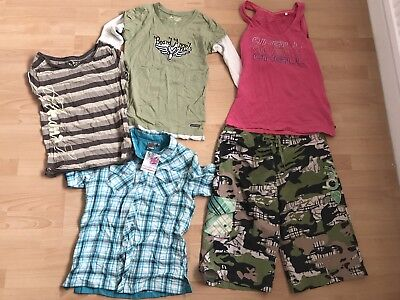 Women's Surf Clothes Bundle Sizes 10 And 12, O'Neill, Billabong, Gul, Animal