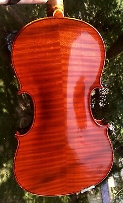 Old Estate Salvadore De Durro Violin Flamed Back Grand Concert