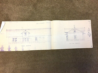 Pere Marquette Ry-Wallaceburg, Ontario Depot Blueprints - 3 Page Set