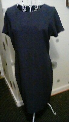Tunic Dresses Size 14 Perfect For Work One Navy One Coral