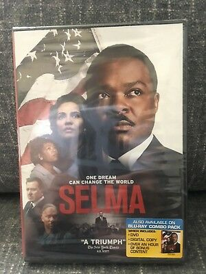 SELMA (DVD, 2015, Widescreen) New / Factory Sealed / Free Shipping