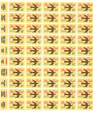 SCOTT # 1552 Christmas Dove Weather Vane United States Stamps MNH - Sheet of 50