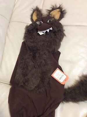 Pottery Barn Kids Werewolf Halloween Costume 12-24 NWT! 2 pc  Fast Ship