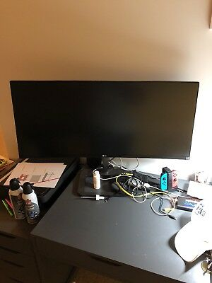 """LG 34UC87C 34"""" IPS LCD Monitor with TV Tuner , built-in Speakers"""