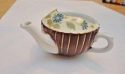Unusually Colored Antique Porcelain Invalid Feeder