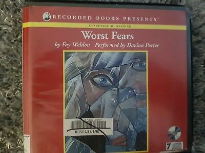 Worst Fears by Fay Weldon EXCELLENT STORY Fiction Great audiobook 7 cd's