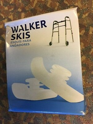 Medline # 86615ski Walker Ski/Glider NEW - 1 pair
