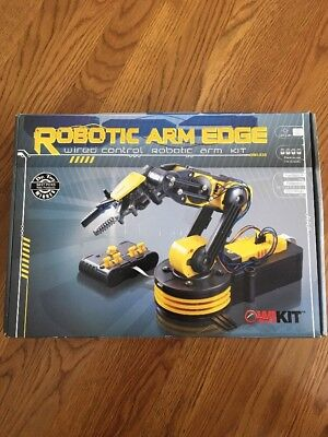 OWI-535 Robotic Arm Edge New In Box FREE SHIPPING! Wired Control Robotic Arm Kit