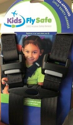 Kids FlySafe CARES Airplane Safety Harness, brand new, FAA-APPROVED