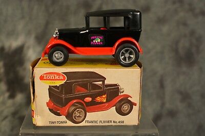 Vintage 1960s Tiny Tonka Frantic Flivver 100% Complete w/ Box NEAR MINT