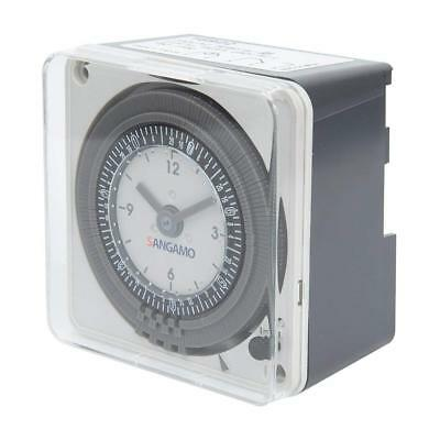 Sangamo 16922 1 Channel 7 Day Analogue Time Switch, 3680 W, 230 V, Grey