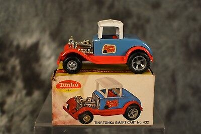 Vintage 1960s Tiny Tonka Smart Cart No. 432 100% Complete w Box NEAR MINT