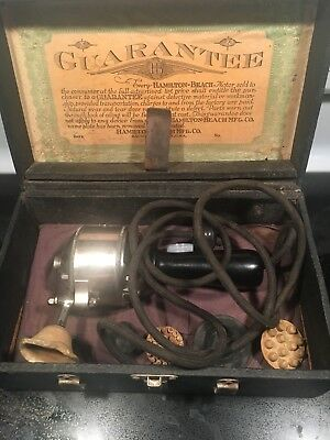 Early 1900s Hamilton Beach Vibrator In Box Type F And Works