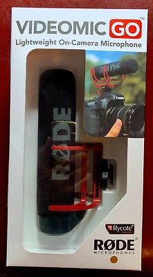 Rode Videomic GO On-Camera Shoe Mount Rycote Lyre - new condition