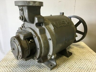 "Nash SC-7 Liquid Ring Vacuum Pump, 6"" Ports, 316SS, #89252"