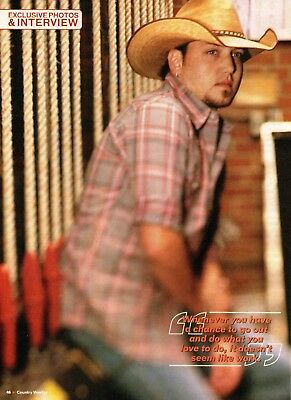 Jason Aldean 3 Page Magazine Article Clipping 8 Pictures Country Music