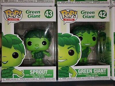 Funko Pop! AD ICONS GREEN GIANT & SPROUT IN HAND