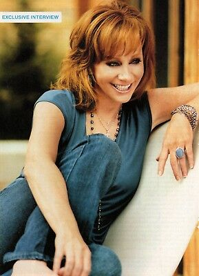 Reba McEntire 4 Page Magazine Article Clipping 4 Pictures Country Music