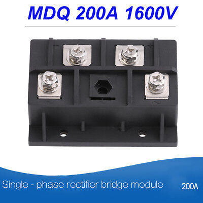 MDQ 200A 1600V Single Phase Diode Bridge Rectifier