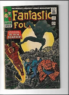 Fantastic Four #52: first appearance of Black Panther; top movie of 2018!