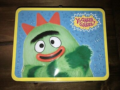 METAL LUNCHBOX YO GABBA GABBA Used Lunch Box Brobee