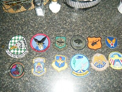 Lot of Vietnam era Air Force patches